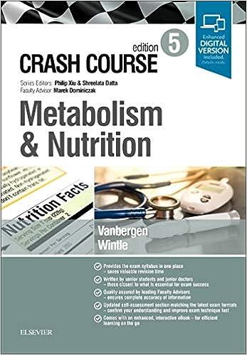 Crash Course Metabolism and Nutrition, 5th Edition - Original PDF