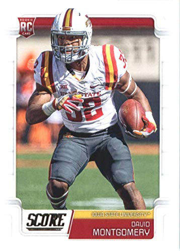 2019 Score #339 David Montgomery Iowa State Cyclones Rookie Football Card
