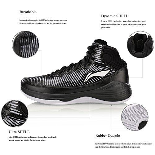 Sneaker Da Uomo Quickness Scarpe Da Basket Supporto Sneakers Ultra Shell Stabilità Dinamica Scarpe Sportive Shell 4h Uomini