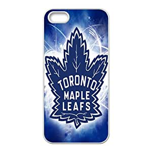 Shiny blue Toronto maple leafs Cell Phone Case for Iphone 5s