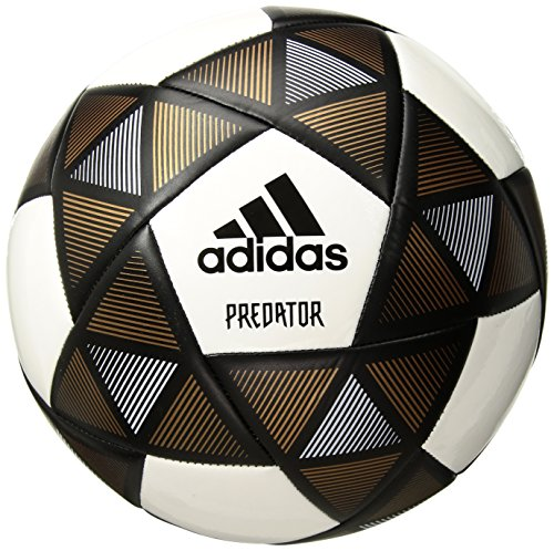 er Soccer Ball, Black/White/Copper, Size 5 ()