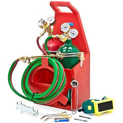 Biltek Professional Portable Torch Kit Oxygen Acetylene Oxy Welding Cutting Victor-Style Tank