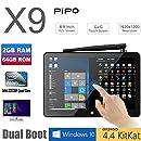 """TOZO PIPO X9 64GB Mini Computer 8.9"""" 1920x1200 PC TV Box Desktop Intel Z3736F Quad Core Windows10 Android 4.4 Kikat Dual Boot Mini PC 2GB RAM 64GB ROM"""