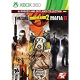 Outlaws & Rogues Collection - XBOX 360 - The Line - Borderlands 2 - Mafia II