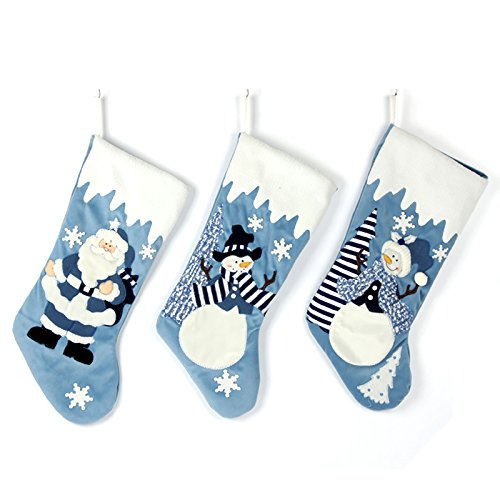 (Set of 3 Blue 19