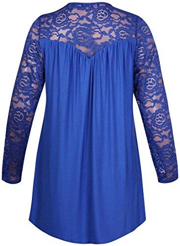 Purple Hanger - Camiseta de manga larga - para mujer azul real