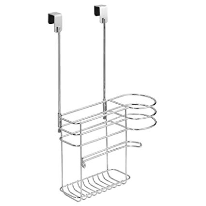 Bon InterDesign Classico Over Cabinet Hair Care Tools Holder U2013 Storage Caddy  For Blow Dryer, Curling