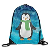 BiXiShop Cartoon Penguin Vacuum Insulated Stainless Steel Cup Adlt Canvas Bag
