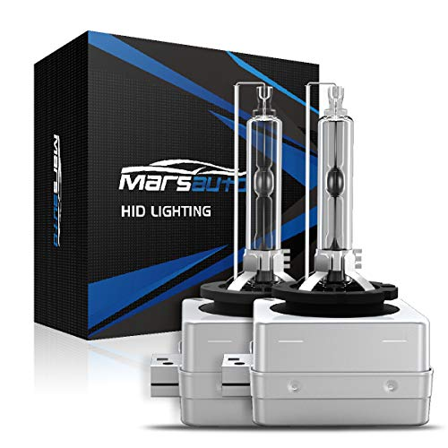 2013 Chrysler 300 Replacement - Marsauto D3S Xenon HID Headlight Bulbs 5000K Pure White 35W with Metal Stents Base and Gloves for 12V HID Headlight Replacement Bulbs 2Pack