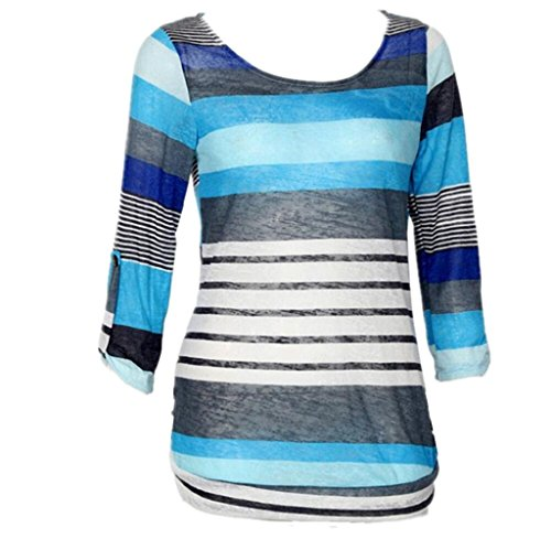 Gillberry Fashion Women Polyester Loose Blouse Ladies Casual Tops T-Shirt (XL, - Sunglasses Hilo