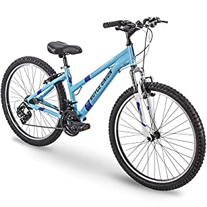 26″ Royce Union RTT Womens 21-Speed Mountain Bike, 17″ Aluminum Frame, Trigger Shift, Sky Blue (76438)