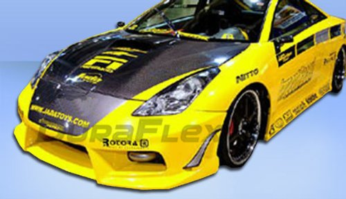 Duraflex Replacement for 2000-2005 Toyota Celica Bomber Front Bumper Cover - 1 Piece