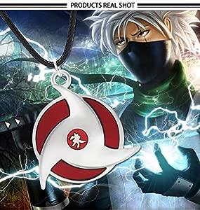 CLEARNICE Collar de Hombre De Moda Japón Anime Collar Naruto ...
