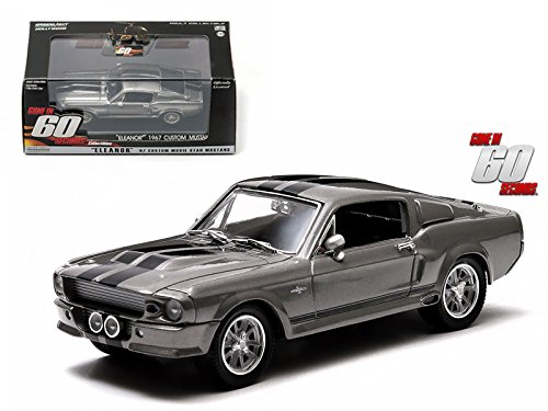 1967 Ford Shelby Mustang GT500 Eleanor Gone in Sixty Seconds Movie (2000) 1/43 Car Model by Greenlight ()
