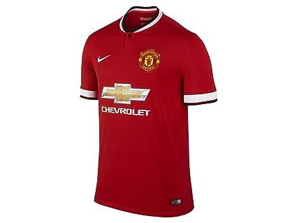 promo code 248df c1a65 Amazon.com : Nike Infants Manchester United 14/15 Home Mini ...