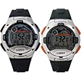 Casio W753 Digital Sports Watch w/ Moon & Tide Data