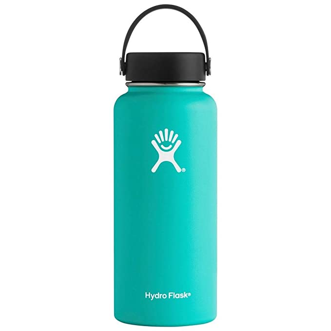 Best Camping Gear  : Hydro Flask Double Wall Vacuum Leak Proof Sports Water Bottle