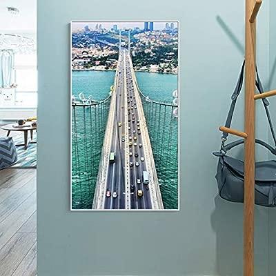 tzxdbh Famoso Eurasia Land Bridge Seascape Pinturas sobre Lienzo ...
