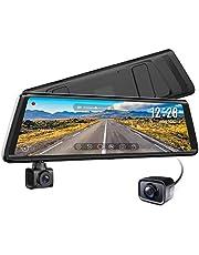 AUTO VOX A1 Uber Rotating Front Camera Dual Recording Stream Media Mirror Dash Cam