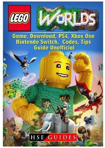 Price comparison product image Lego Worlds Game, Download, Ps4, Xbox One, Nintendo Switch, Codes, Tips Guide Unofficial