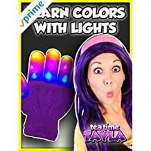 Tea Time with Tayla: Learn Colors with Lights