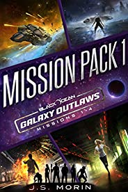 Galaxy Outlaws Mission Pack 1: Missions 1-4 (Black Ocean: Galaxy Outlaws)