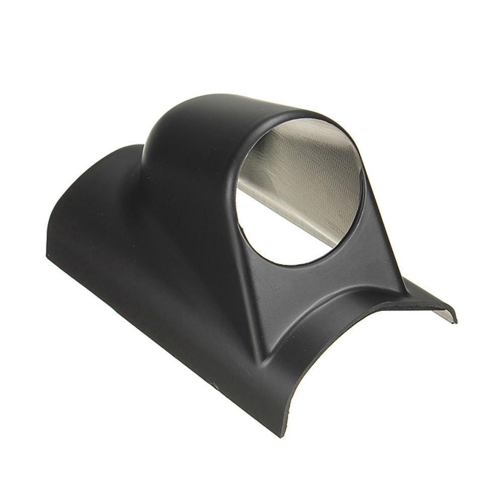 BODYART 2' 52mm Car Auto Black Single A-Pillar Hole Gauge Mount Pod holder (Left hand drive) TS Trade