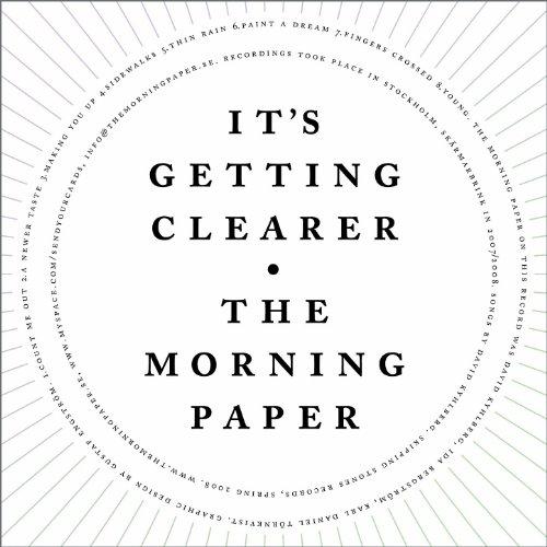 It's Getting Clearer -