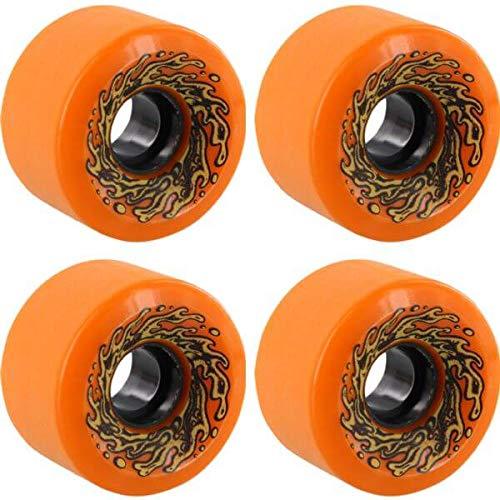 (Santa Cruz Skateboards Slimeballs OG Slime Orange/Glow Skateboard Wheels - 60mm 78a (Set of 4))