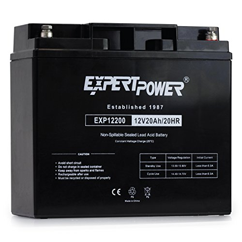 ExpertPower EXP12200 Rechargeable Threaded Terminals