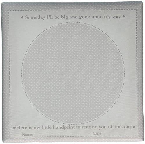 - Child to Cherish Canvas Handprint Frame, Grey