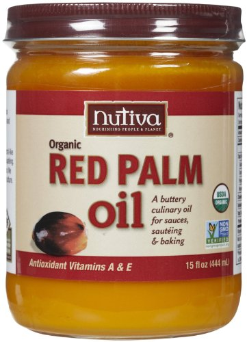 Nutiva Red Palm Oil, 15 fl oz by Nutiva