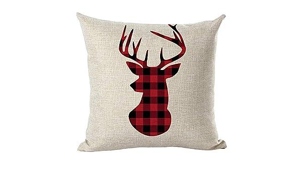 Fulijie Throw Pillow Covers Fundas de Almohada con diseño de ...