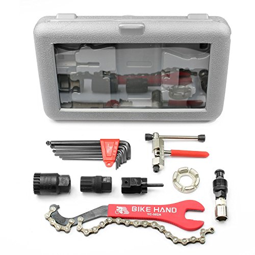 BIKEHAND Economical Bike Bicycle Repair Tools Tool Kit (Bike Crank Puller)