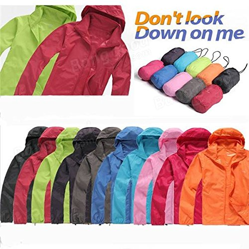 PhilMat Cyclisme imperméable léger costume manteau de vent à séchage rapide vêtements de protection skinsuits