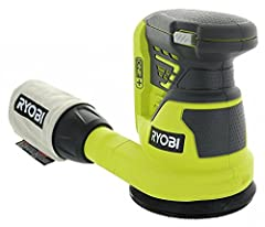 After you have cut and assembled wood, you need to clean your piece up. This orbital sander by Ryobi, the P411, is a handy little tool that helps you keep your furniture or other wood projects splinter-free and looking neat! At 10,000 orbits ...