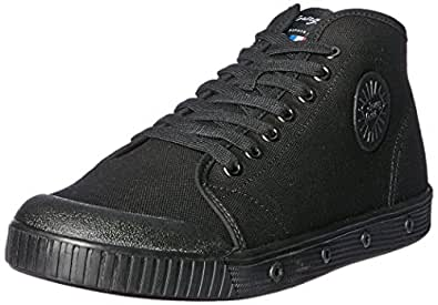 Spring Court Men's B2N Trainers, Black, 9 US