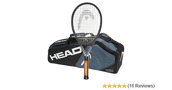 HEAD Ti.S6 Strung Tennis Racquet with 3 Racquet Bag