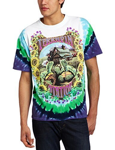 Liquid Blue Men's Grateful Dead Terrapin Station T-Shirt, Multi, X-Large