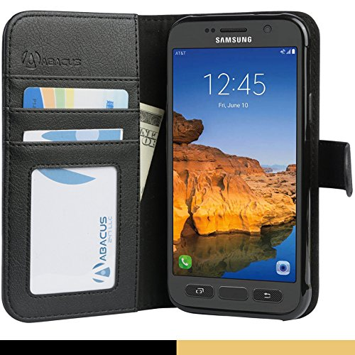 Abacus24 7 Galaxy Active Wallet Leather