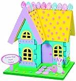 WeGlow International Easter Bunny House 3D Foam Craft Kit