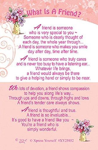 Xpress Yourself Friendship Keepsake Card 3.25u0026quot; X 2u0026quot; ...