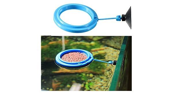 Acuario Fish Tank Alimentación círculo círculo alimentos alimentador/acuario pecera Alimentación Alimentador de Alimentos. Con este alimentador, You don t ...