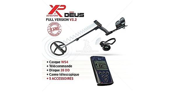 Detector de metales XP Deus - Full Version - Disco 28 cm: Amazon.es: Bricolaje y herramientas