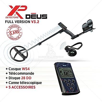 Detector de metales XP DEUS Full versión-Disco 28 cm