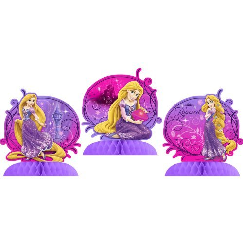 Hallmark Tangled Sparkle Tabletop Centerpiece Decor (3 Count) ()