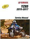 LIT-11616-28-45 2015-2017 Yamaha YZ85 Motorcycle Service Manual