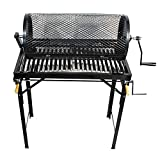 5 Burner Hatch Chile Roaster Propane Roaster Drum & Portable Stand CR-BARBACOA-2