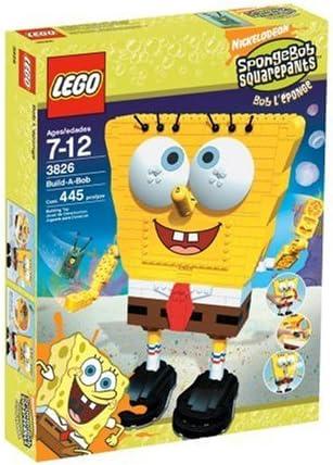 Amazon Com Lego Spongebob Build A Bob Toys Games