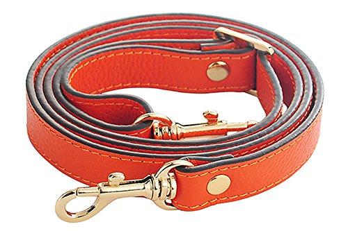 Orange Leather Strap - 5
